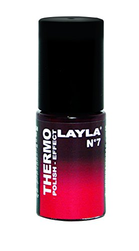 Layla Cosmetics Thermo Polish Effect N.7 Nagellack, 1 Stück (Schöner Nagellack)