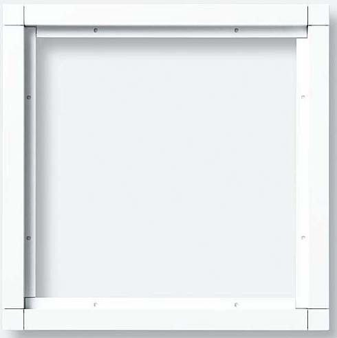 Preisvergleich Produktbild Siedle Kombirahmen 4 Module, KR 611-2-2-0 Wh, weiß-hochglanz, 4947312