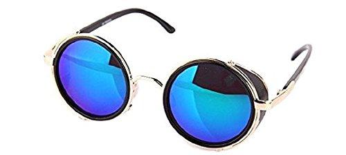 Ro Rox Unisex Steampunk Dampf Punk Cyber Schutzbrille Sonnenbrillen