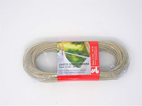 CABLE ACERO PLASTIFICADO TENDER 20M.