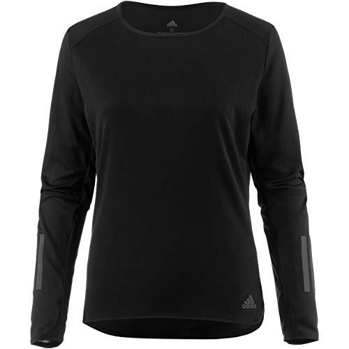 e Langarm T-Shirt, Black, S ()