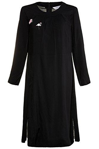 Ulla Popken Femme Grandes Tailles Blouse Longue 715363 Noir