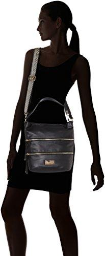 Gaudì V7AI-70461 Borsa A Secchiello Donna Nero (Black)