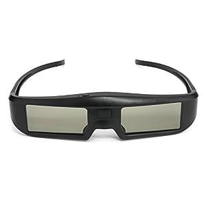 Docooler G06-BT 3D Aktive Shutter Gläser Virtual Reality Gläser Bluetooth Signal besonders für LG/Sony/Panasonic/Sharp/Toshiba/Mitsubishi/Philips/Samsung 3D TV Smart TV