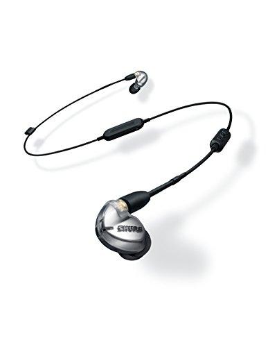 Shure SE425-V+BT1-EFS Sound Isolating Ohrhörer - Bluetooth In-Ear Ohrhörer mit passiver Geräuschunterdrückung & zwei hochauflösenden Treibern - Silber - 3