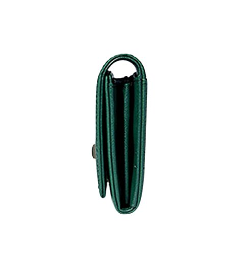 Femminile Portafoglio Pack Card Borse Frizione Pacchetto Del Telefono Della Borsa Green