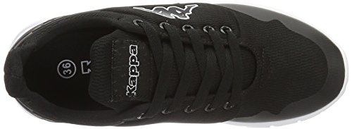 Kappa New York, Sneakers Basses Mixte Adulte Noir (Black/white)