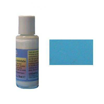 Kaltglasur Harz-Abtönfarbe, 10ml, aquamarine [Spielzeug]