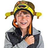 Nickelodeon TMNT Ninja Turtles Michelangelo Kids Flipeez Action Hat- Great Holidays (Tmnt Hat)
