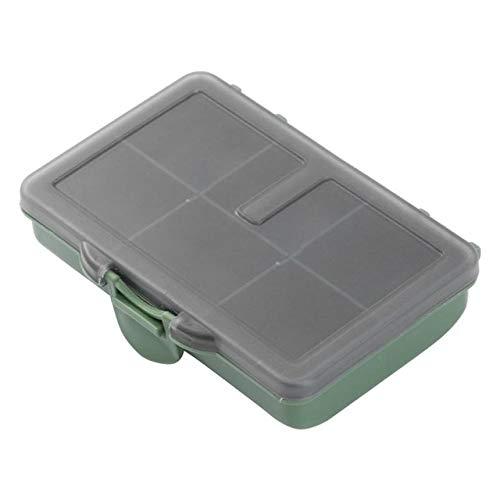 HATCHMATIC 8/6/4 Grid Angeltaue Container Fischaufbewahrungsbehälter Hüllen Organizer oon Lure Box Pesca Werkzeuge Gerät: 6 Fall