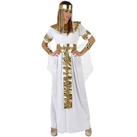 Atosa - Disfraz de reina egipcia para mujer, talla L (M/L) (96849)