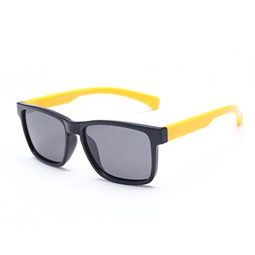 Sunglasseslifes Kinder Polarisierte Sonnenbrillen Silikon-Material, sicher und sicher - UV400 Schutz Unisex,5