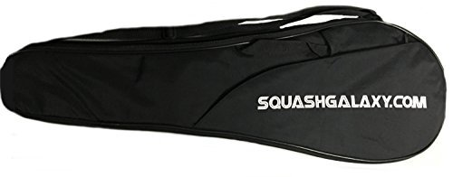 31T8vbh2PDL - Deluxe Full Size Squash Racquet Cover w/ Pocket by Python Racquetball sports best price Review uk