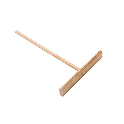 BESTONZON Extender la Masa de los Crepes Distributor Bamboo Rake Crepe Spreader Herramienta de Cocina en Forma de T para el hogar