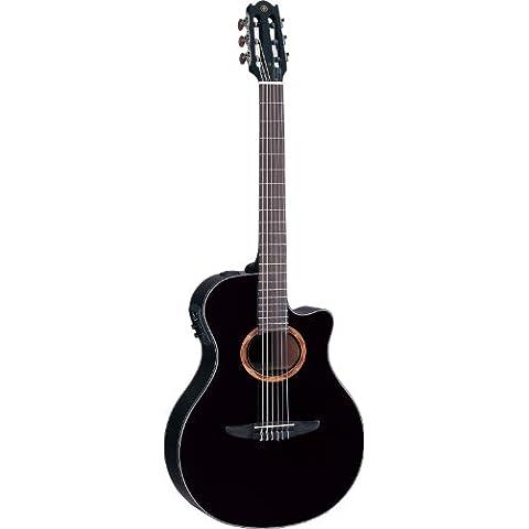 Yamaha ntx700guitarra Electro acústica de nailon, color negro