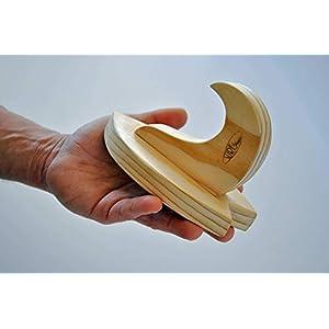 Minimal Premium Racks Handgefertigtes Massivholz für Surfboard – Minimal ModelIBU – Perfekt für Shortboard, Longboard und Skateboard