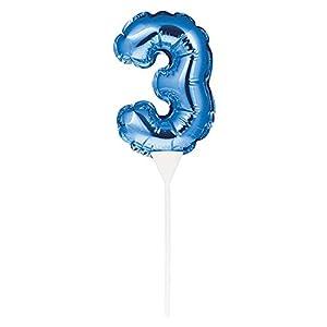 Creative Converting 8C337532 - Balón de fútbol autoinflable (23 x 9 cm), color azul