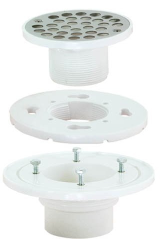 EZ-FLO 15301 Low-Profile Floor and Shower Drain by EZ-Flo - Low-profile-drain