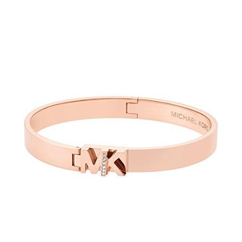 Ladies Michael Kors Rose Gold Plated Iconic Bracelet MKJ6836791