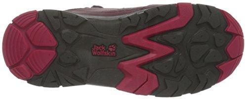 Jack Wolfskin Unisex-Kinder Mtn Attack 2 Texapore Mid Vc K Trekking-& Wanderhalbschuhe Rot (azalea red 2081)