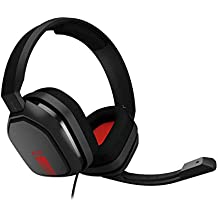 ASTRO Gaming A10 Gaming Headset - Black/Red - PC (Renewed)