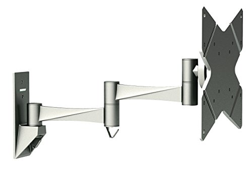 """CNCT PREMIUM WALL MOUNT / Bracket / Stand DUAL ARM FULL MOTION for upto 37"""" LCD & Plasma TV with Maximum VESA 200 MM - Supports TVs - Displays - Monitors from Sony - Samsung - LG - Dell - Philips - Acer in sizes from 17"""" - 19"""" - 20"""" - 22"""" - 24"""" - 27"""" - 32"""" - 37"""""""