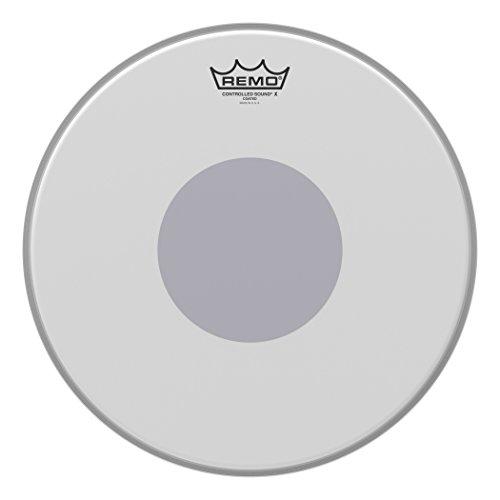 """Remo Schlagzeugfell Drum Head Controlled Sound x weiss aufgeraut, coated 14\"""" CX-0114-10"""