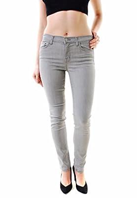 J BRAND Women's Starr Skinny Leg Jeans Gray 811C073