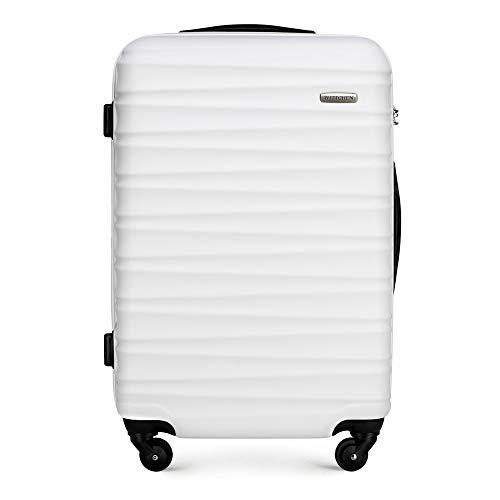 WITTCHEN GROOVE Line Koffer, 67 cm, Weiß