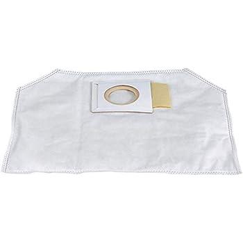 1x Sac-filtre tissus /à fermeture /éclair pour aspirateur Wurth ISS 35 S