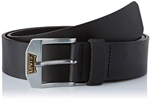 Levi\'s Herren New Legend Gürtel, Schwarz (Black), 110 cm (Herstellergröße: 110)