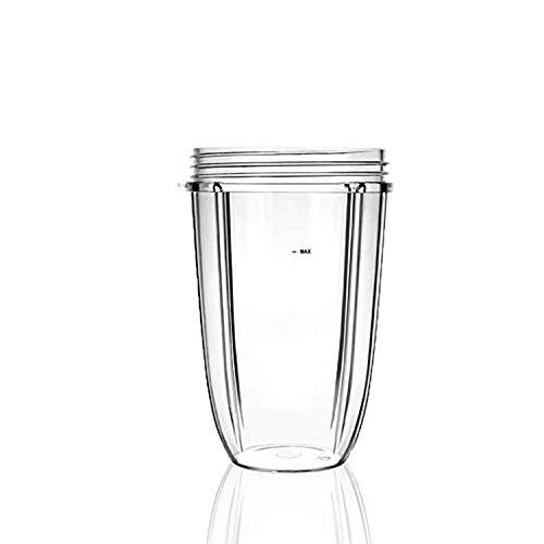 Nutribullet Accesorios ,24oz De Gran Capacidad Transparente Tazas Tazas De Repuesto De La Parte Exprimidor...