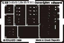 Eduard Photoetch 1:72 - Seatbelts Luftwaffe Fighters - EDP72309