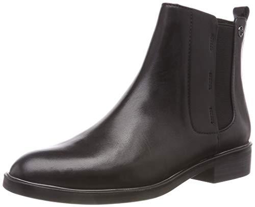 Tamaris Damen 25307-21 Chelsea Boots, Schwarz (Black 1), 39 EU