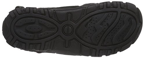 Geox Herren Uomo Sandal Strada B Schwarz (Blackc9999)