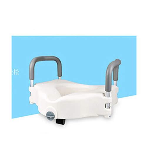 Tyxhzl cuscino rialzo per wc con braccioli, rialzo per wc