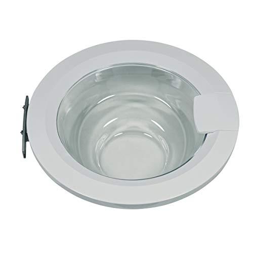 Tür komplett Ring Bullauge weiß Glas Kunststoff Waschmaschine Frontlader ORIGINAL Bosch Siemens 00704285 704285 passend Neff Logixx Avantixx 3ti74 3ti71 wis28 wis20 wis24 w5440 w5420 w5440 wi12 wi14