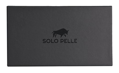 "Solo Pelle iPhone 7 / 8 Case Lederhülle Ledertasche Backcover "" Flex "" aus echtem Leder mit Kroko-Prägung in Schwarz inkl. edler Geschenkverpackung Kroko-Perlmutt"