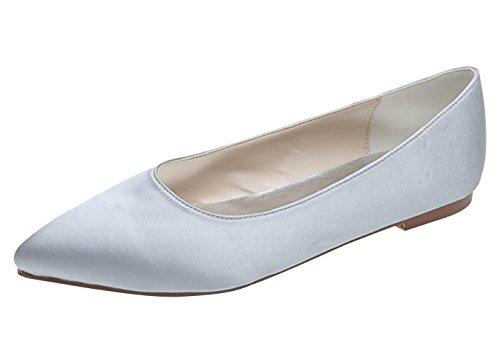 ZHENGXF Escarpin femme Tendance Chaussure de marišŠe mariage Argent