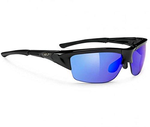 Sportbrille / Sonnenbrille - RYZER - Black Multilaser Purple