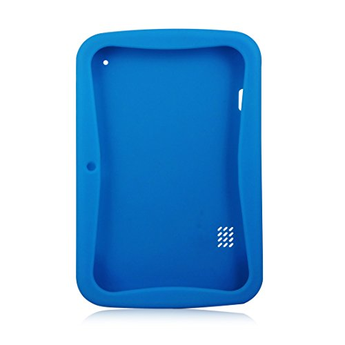 Kindgerechte Hülle (Blau), fuer Kinder Tablet PC 7 Zoll HD Display 1G RAM Und 8G ROM-Speicher Android Quad Core Tablet für Kids