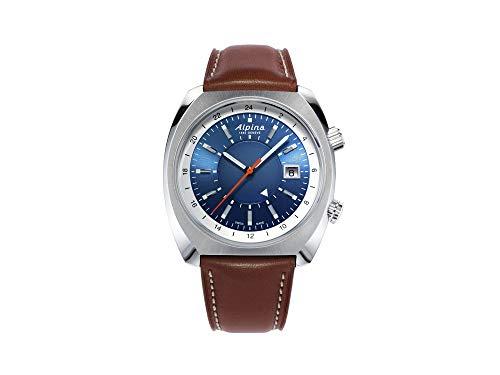 Alpina Geneve Startimer Pilot Heritage Automatic GMT AL-555LNS4H6 Reloj Automático para Hombres