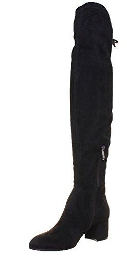 Justin Reece 4100, Damen Stiefel & Stiefeletten Black WT