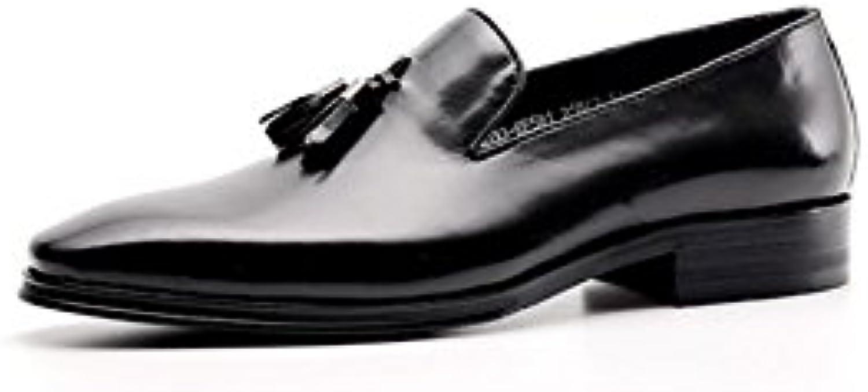 9f4ecac61af32 ZPEDY Chaussures en Cuir Glands Young Casual Glands Cuir Chaussures Casual  Fashion Conduite en Plein AirB07FLXV279Parent 5d33e8