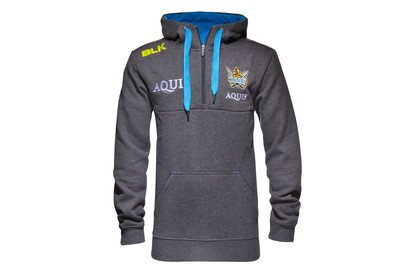 9185ec28ef2ce9 Gold Coast Titans NRL 2016 1 4 Zip Hooded Rugby Sweat - size S