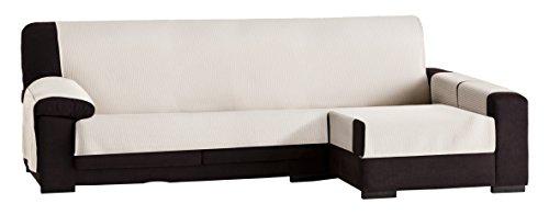 Eysa Bianca - Funda para chaise longue, 290 cm, color crudo