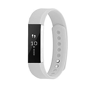 wze Fitbit alta HR y bandas de alta, ajustable de repuesto suave silicona accesorios deporte correa pulsera de reloj… 10