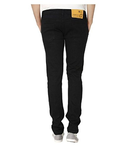 Urbano Fashion Men's Slim Fit Jeans (eps-black-30-06)