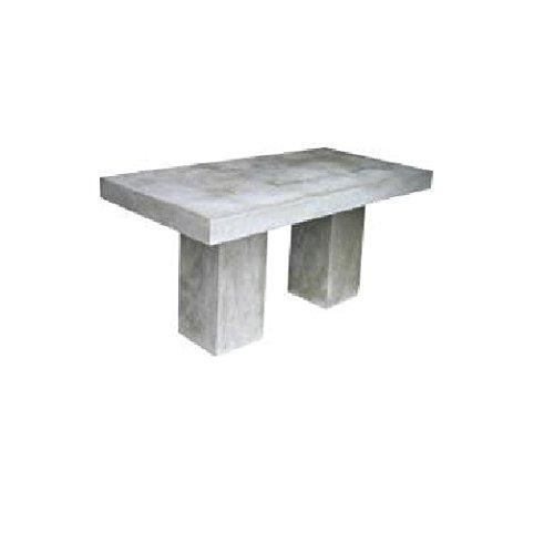 Tavoli Da Giardino In Cemento.Strohschirm Manufaktur Massive Cemento Calcestruzzo Tavolo Da