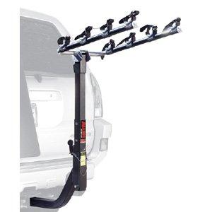 4Fahrräder Anhängerkupplung Mount Rack für Fahrzeuge mit hinten montiert Ersatzrad (2Empfänger) (Allen Bike Hitch)
